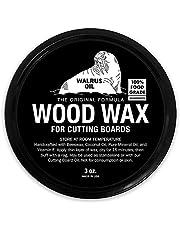 Walrus Oil Wood Wax, 3 oz Can, FDA Food-Safe, Cutting Board Wax and Board Cream