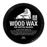 wood wax food - WALRUS OIL - Wood Wax, 3 oz Can, FDA Food-Safe, Cutting Board Wax and Board Cream