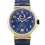 Ulysse Nardin Marine Chronometer Manufacture 18k Rose Gold Watch - 1186-126/43