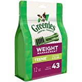 Greenies Weight Management Teenie Dental Dog Chews - 12 Ounces 43 Treats
