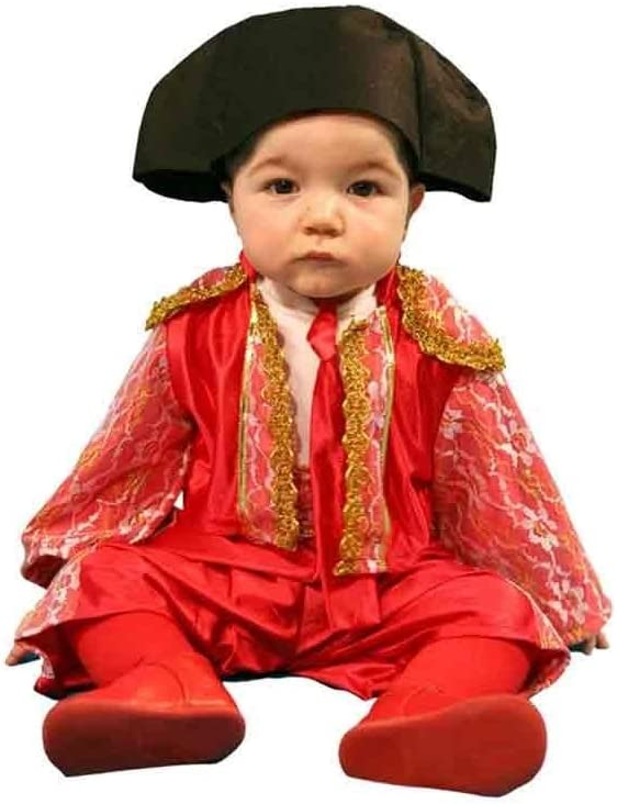 Atosa - Disfraz de torero, bebe 1-2 años: Amazon.es: Juguetes y juegos