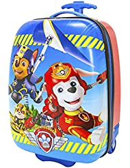 Nickelodeon Boys Paw Patrol Hard Shell Luggage, Blue