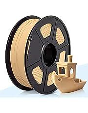 3D Warhorse Real Wood PLA 3D Printer Filament,Wood Filament 1.75 mm,1KG(2.2LBS) Spool,Dimensional Accuracy +/- 0.02 mm,Wood Filament