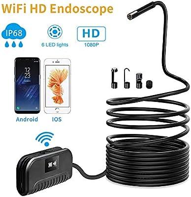 WiFi Endoskop 8mm Durchmesser, Drahtlose Inspektionskamera,2.0 ...