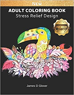 Adult Coloring Book: Stress Relieves Coloring Page for ...