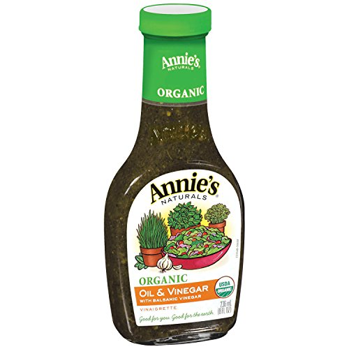 Annie's Organic Gluten Free Oil & Vinegar Dressing 8 fl oz Bottle