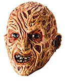 Rubie's Costume Co. Men's A Nightmare on elm Street, Vinyl Freddy Krueger mask, Red, One Size