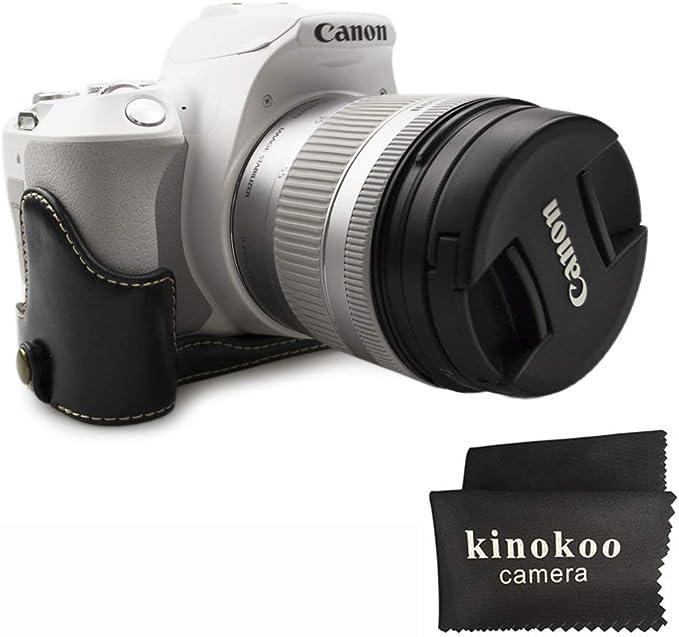 Kinokoo Hälfte Fall Pu Material Cover Für Canon Eos Kamera