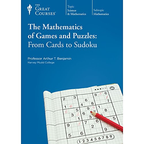 Excellent Puzzle Game - The Mathematics of Games and Puzzles; From Cards to Sudoku