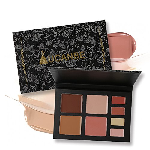 UCANBE Concealer Palette for Contouring Highlighting Face Bronzer Color Correcting - Neutralizes Redness Conceals Under-eye Darkness, Blemishes