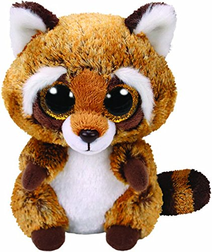 Amazon.com  Ty Beanie Boo - 36941 - Rusty The Raccoon 15cm  Toys   Games c2c8b2d85ae
