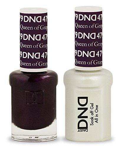 (DND Soak Off Gel Polish Dual Matching Color Set 479, Queen of Grape)