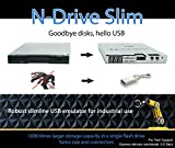 Floppy Disk USB Emulator Nalbantov N-Drive Slim Industrial for Husqvarna Viking Designer