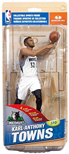 McFarlane Toys NBA Series 29 Karl-Anthony Towns Minnesota Timberwolves Collectible Action Figure by McFarlane