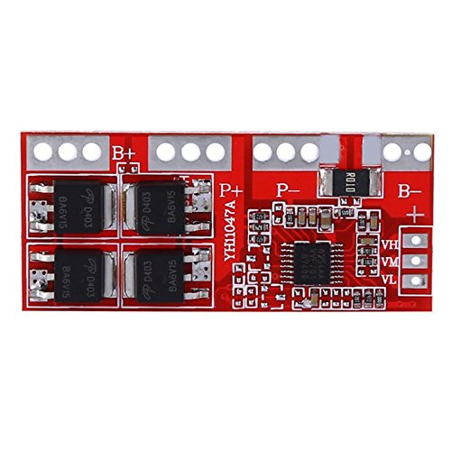 Toogoo 3S Li-ion Lithium Battery Charger Protection Board 10.8V/11.1V/12.6V 30A Overcharge/Over-discharge/Overcurrent/Short-circuit Protection Auto Recovery ()