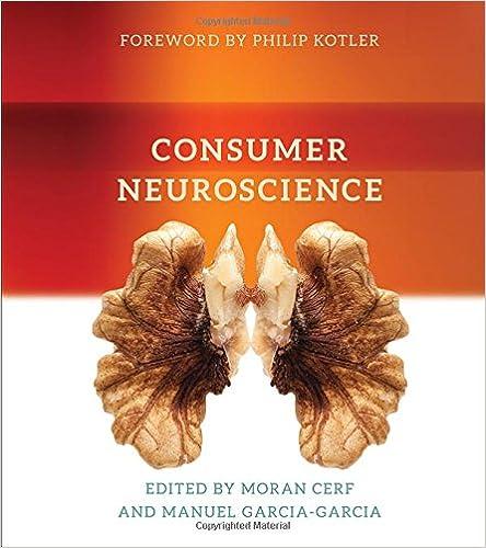 Consumer neuroscience mit press 9780262036597 medicine health isbn 13 978 0262036597 fandeluxe Image collections