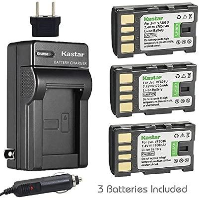 Kastar batería BN-VF808 (3 unidades) y Kit de Cargador para ...