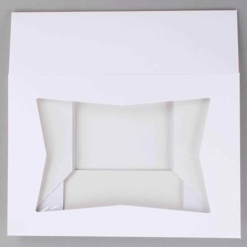Cupcake Box holds 12, PACK of 10, 14x10x4 White Window Bakery/Cake Box and Inserts w/ Signature Picks by Happy Hour Supplies (Image #5)