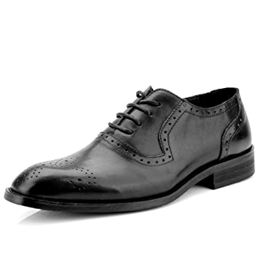 Gobling Men s Oxford Dress Shoes - Fashion Wedding Prom Shoes Classic Color  and Carved Breathable Brogue 41c9eb3d1243
