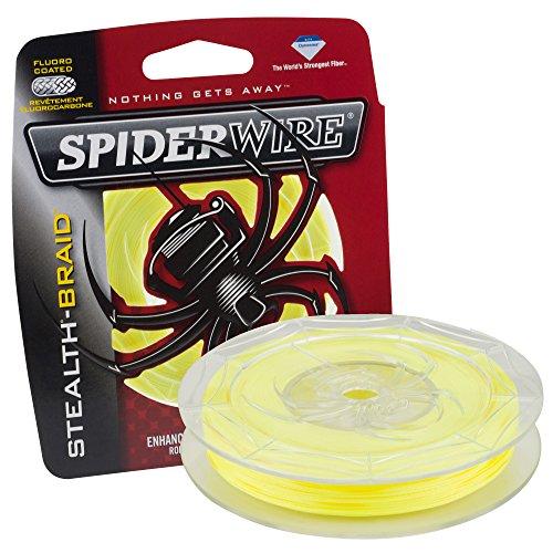 125 Tests - Spiderwire SCS8Y-125 Stealth, 125-Yard/8-Pound, Hi-Vis Yellow