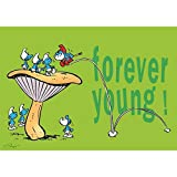 Puppy Postcard The Smurfs, Forever Young ! (15x10cm)