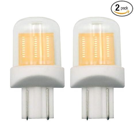 Amazon.com: Bombilla LED T10 194 DC 12 V cálida 3000 K 192 ...