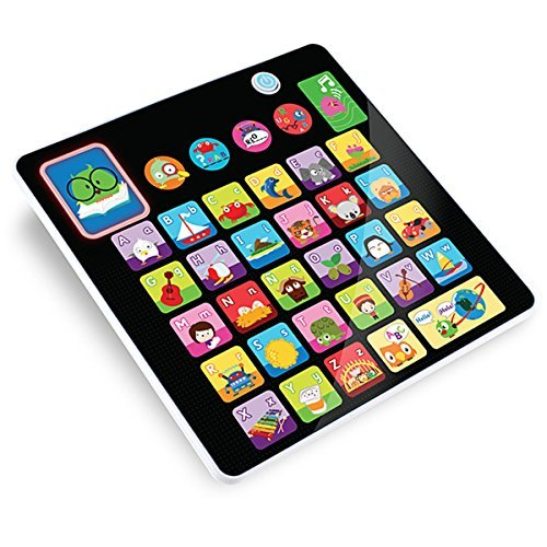 Smooth Touch Alphabet Tablet Toy from Kidz Delight