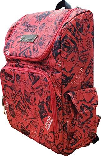 Vincent Master Backpack Travel Stylist Barber Bag (Red)