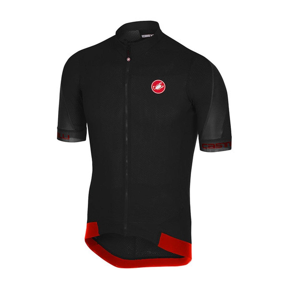 CastelliメンズVolata 2 Bike jersey fz B07B4DVY96 X-Large|Light Black/Anthracite Light Black/Anthracite X-Large