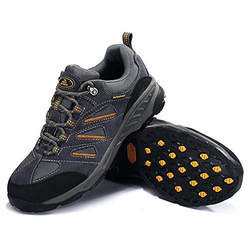 damen Mit Sohle Wasserabweisende Und Schuhe Herren Tfo Hellgrau Rutsfeste Atmungsaktive Outdoor Wanderschuhe amp; Trekking Aq1nH5fw