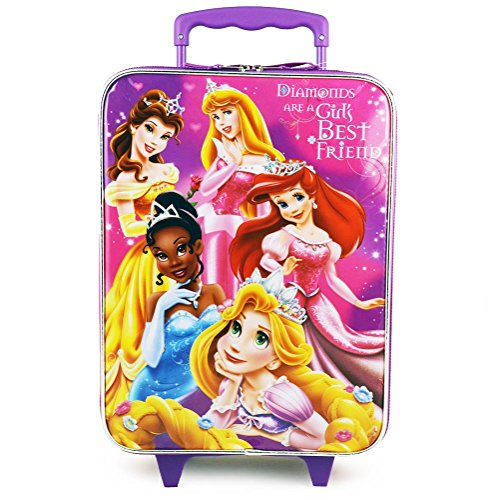 Disney Princess Rolling Luggage Approved