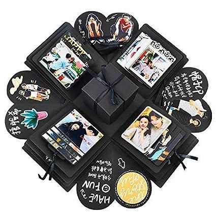 Amazon Creative Explosion Gift Box DIY Handmade Photo Album