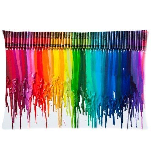 Crayon Home Decorative Pillowcase Pillow Case Cover 20*30 ()