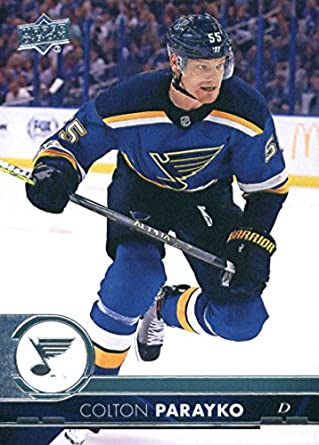 1064a23fc6ab2 Amazon.com: 2017-18 Upper Deck Series 2 #405 Colton Parayko St ...