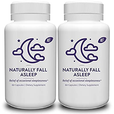 Natural sleep aid pills 120 count - Melatonin Free - Non-Habit forming - With no side effects - Wake up without drowsiness