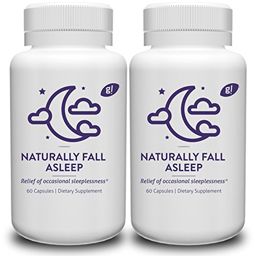 Natural sleep aid pills count product image
