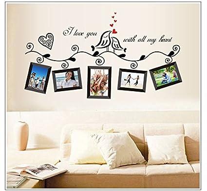 Foto marco combo poner sofás cristal decorativo portaretrato collage 90 * 50cm