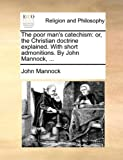 The Poor Man's Catechism, John Mannock, 1140762885