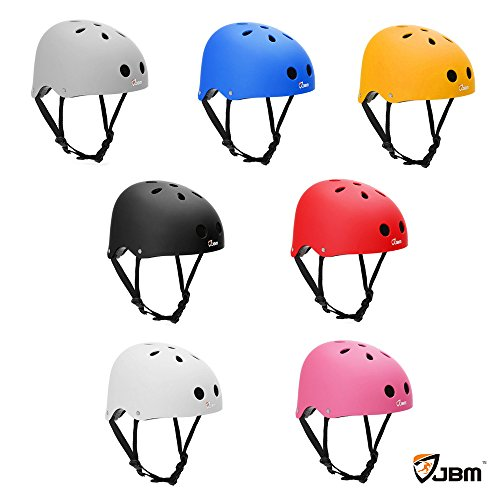 JBM-Skating-Casco-Proteccin-de-seguridad-para-Multi-Sport-Skateboarding-Roller-conduccin-Skating-Inline-Skating-zweirdriges-electrnico-tarjeta-bicicleta-mountain-bike-BMX-MTB-y-otros-deportes