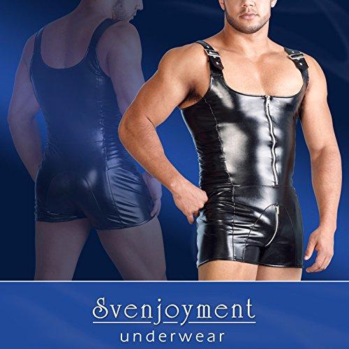 Svenjoyment Lederimitat Herren Overall XL 21502391730