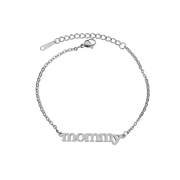 Mommy Chain Bracelet Bangle ON...
