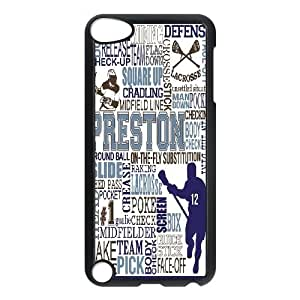 DIY Lacrosse Ipod Touch 5 Phone Case, Lacrosse Customized Hard Back Case for iPod Touch5 at Lzzcase