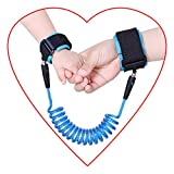X cool Anti-lost Belt Wristband Straps skin-friendly with Steel Wire for baby children 150-250 cm. (Blue 5)