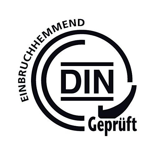 Import Allemagne ABUS 215230 Poign/ée pour porte coupe-feu Mod/èle KFG