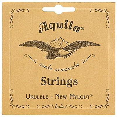 Aquila New Nylgut AQ-4 Soprano Ukulele Strings - High G - 1 Set of 4