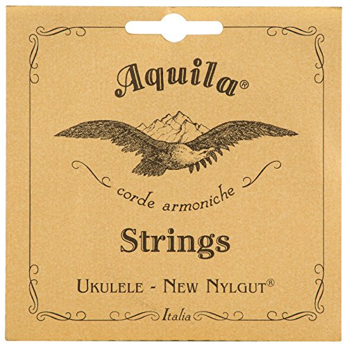Aquila New Nylgut AQ-4 Soprano Ukulele Strings - High G - 1 Set of 4
