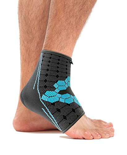 bonmedico® Ekto (NEW!), Ankle Support For Better Blood Circulation – Very Comfortable Sports Ankle Brace – Ankle Brace For Tendonitis – Ankle Brace For Men and Women (L) (left/right)