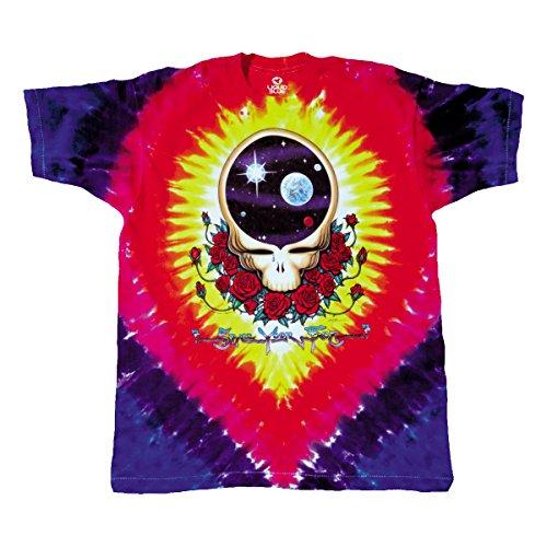 Blue Mountain Dyes LLC Grateful Dead Space Your Face Tie Dye T Shirt (XXXXX-Large)]()