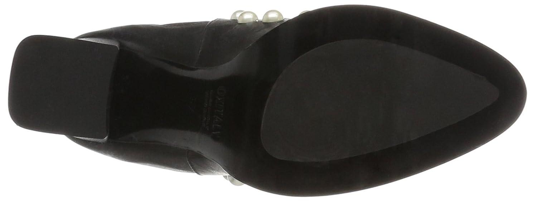 Oxitaly Damen Gloria 356 Chelsea Stiefel (Nero) Schwarz (Nero) Stiefel 417b05