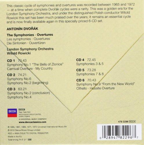 Dvorák: The Symphonies & Overtures